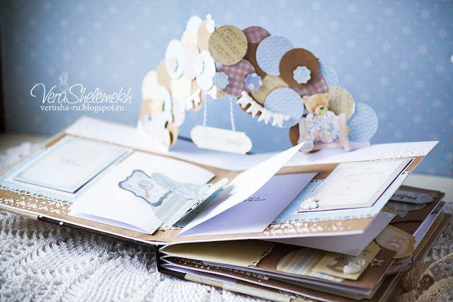 PaperAndCo: Детский Pop-up альбом Teddy Bear