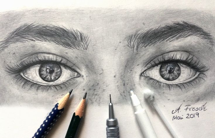Augen Zeichnen - Detaillierte Anleitung für lebensechte