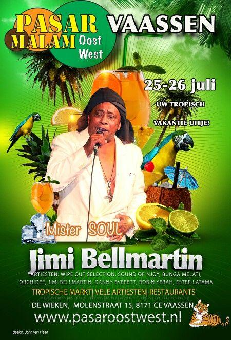 Jimi Bellmartin op de Pasar Malam in Vaassen !