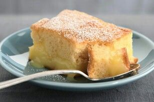Warm Winter Lemon Cake    Prep time: 15 min  Total time: 1 hour 15 min  Makes: 16 servings  What You Need  1 pkg. (2-layer size) yellow cake mix 2 pkg. (3.4 oz. each) JELL-O Lemon Flavor Instant Pudding 1/3 cup granulated sugar 2 cups cold milk 1-1/4 cups water 2 Tbsp. powdered sugar  Make It  Heat oven to 350ºF. Prepare cake batter as directed on package; pour into 13x9-inch baking dish sprayed with cooking spray. Beat dry pudding mixes, granulated sugar, milk and water with whisk 2 min…
