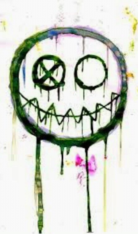 Fun ghoul symbol. I quite like this <<< i used this as inspiration for my art. Thank you to whoever made this