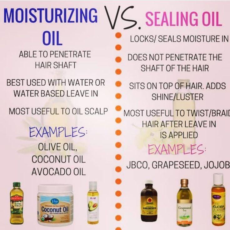 Some Oils are NOT a moisturizer… some are sealan…