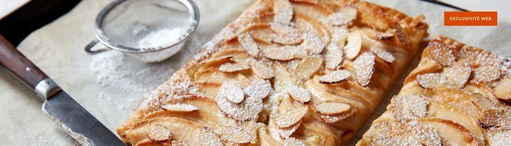 Une tarte aux pommes simplissime et délicieuse, parfaite pour un dessert de dernière minute.