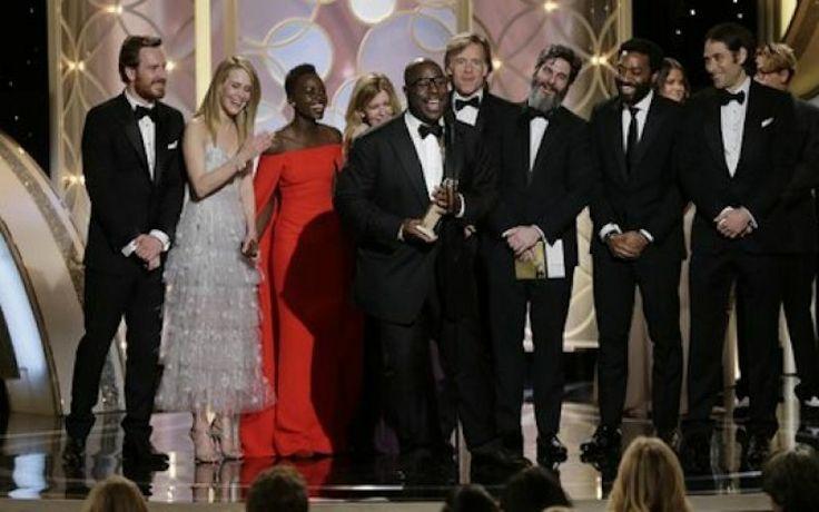 Το «Δώδεκα χρόνια σκλάβος» Καλύτερη Ταινία στις Χρυσές Σφαίρες. Όλοι οι νικητές