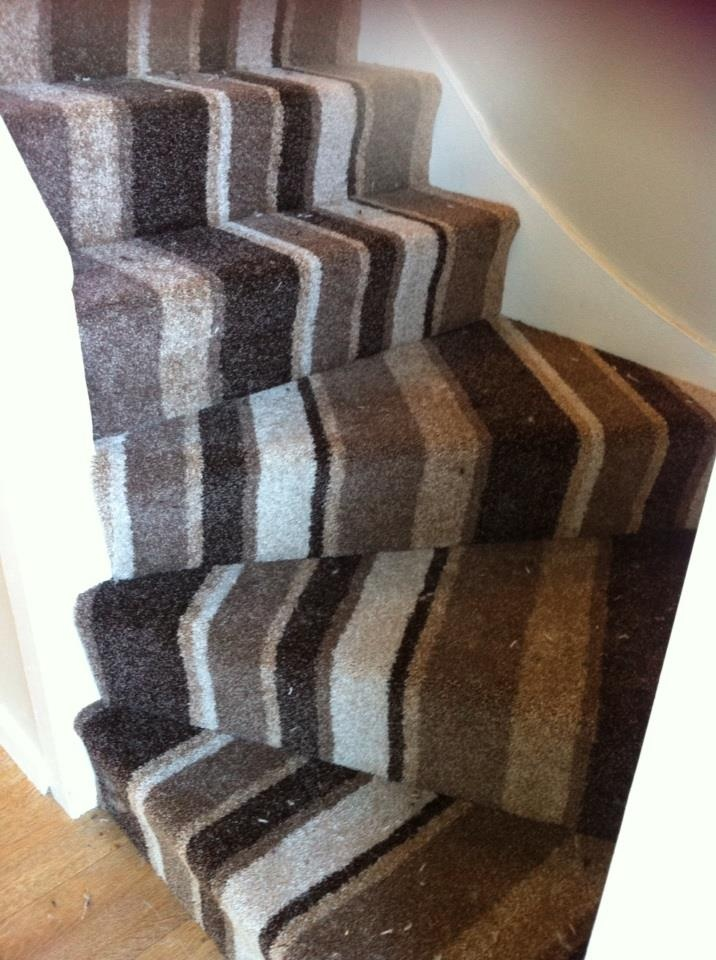 Stair Carpet Striped Images Halls Stairs And Landings