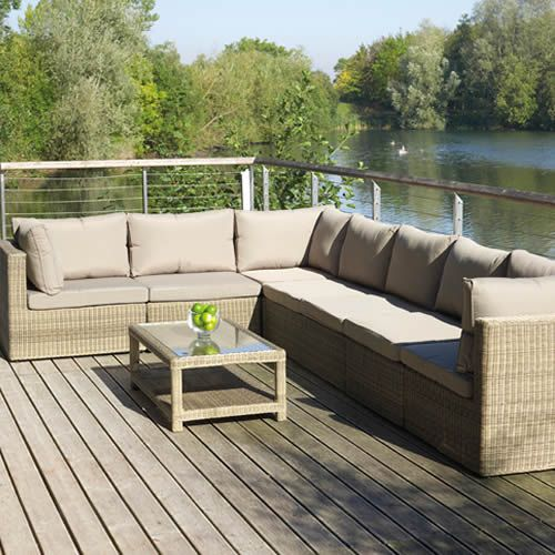 Garden Sofa Corner Unit: 14 Best Images About Woven Garden Furniture On Pinterest