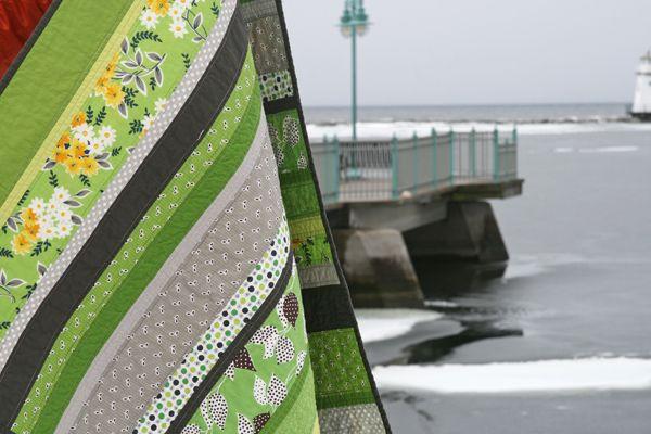 Quilt idea: Green Quilt, Quilts Ideas