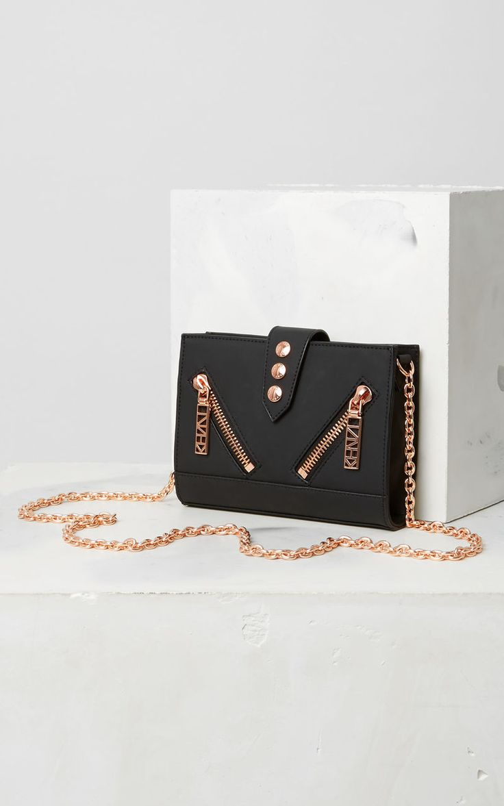Kalifornia Wallet on Chain, BLACK, KENZO