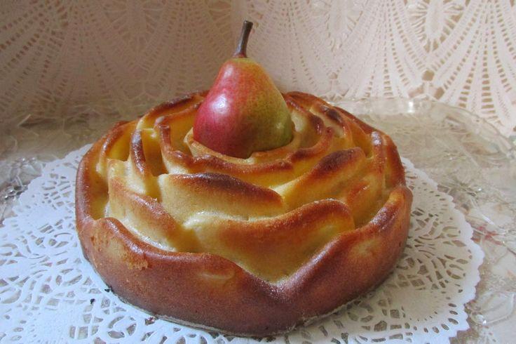Ancika konyhája: Körtés rózsa /Pear Rose