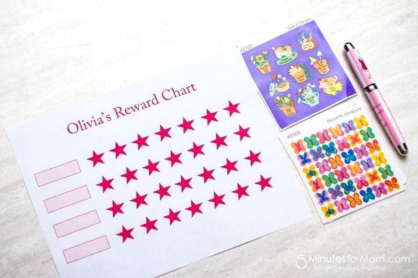 Free Printable Reward Chart Template