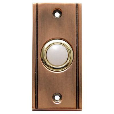 Thomas & Betts/Carlon Wired Door Bell with Lid Button                                                                                                                                                                                 Plus