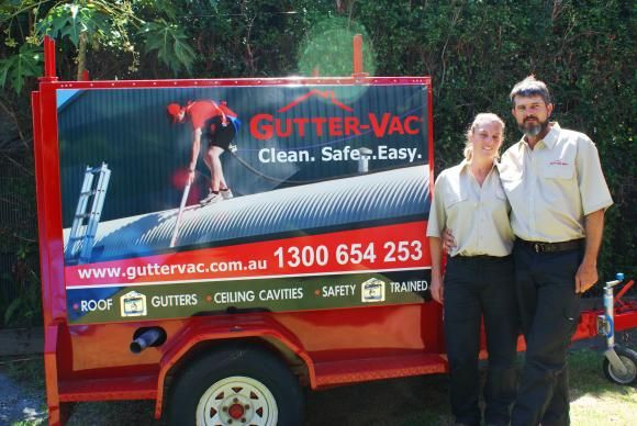 Meet Lyn and Llew, from Gutter-Vac Townsville. They only joined Gutter-Vac this year, but have certainly made a splash cleaning gutters in and around Townville, getting great reviews and making a name for themselves as gutter cleaning specialists.