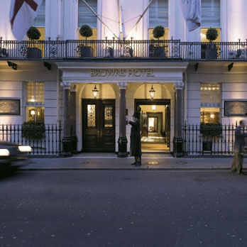 Brown's Hotel, London...one of the stops on the honeymoon. #FiftyShades @50ShadesSource www.facebook.com/FiftyShadesSource