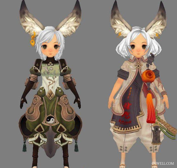 《剑灵》7套角色3D模型 - 游戏模型动作下载 -  CGwell CG薇儿论坛,最专业的游戏特效师,动画师社区 -  Powered by Discuz!
