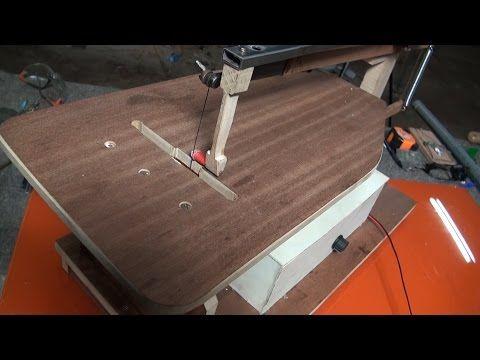 Maquina de marquetería casera 3.3 partes - YouTube