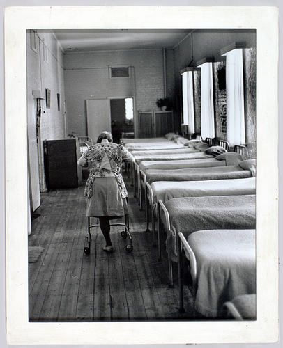 Mental health hospital, Mayday Hills, Beechworth, Victoria, Australia, circa 1970 - 1980.