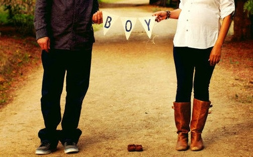 Boy Burlap Banner / Maternity Photography Prop by nhayesdesigns, $13.50