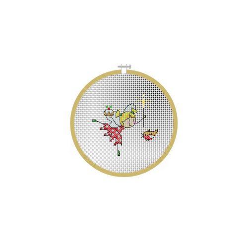 December Fairy Cross Stitch Pattern