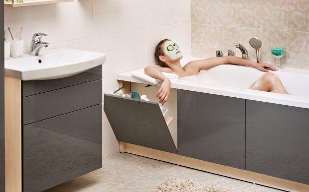 Zdjęcie numer 11 w galerii - Gdzie szukać miejsca na schowki w łazience?