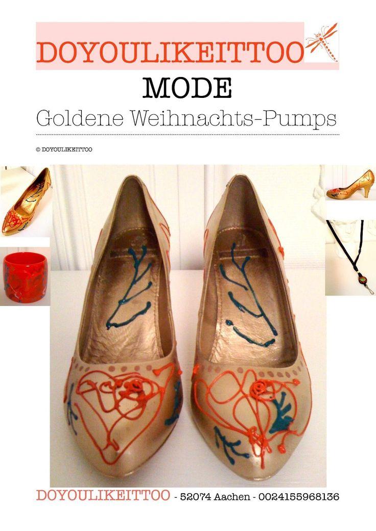 ber ideen zu goldene pumps auf pinterest pumps. Black Bedroom Furniture Sets. Home Design Ideas