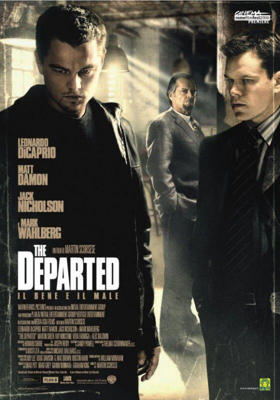 "The Departed (2006) - ""When you decide to be something, you can be it. That's what they don't tell you in the church. When I was your age they would say we can become cops, or criminals. Today, what I'm saying to you is this: when you're facing a loaded gun, what's the difference?"""