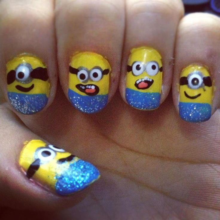 Despicable me minions. they are like the cutest things EVER!!