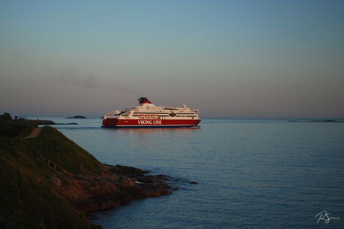 #Vikingline auf dem Weg nach Tallin
