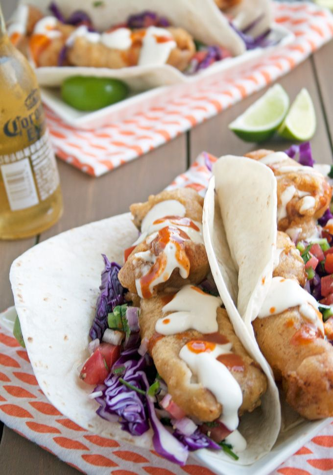 Baja Fish Tacos - These were delicious!