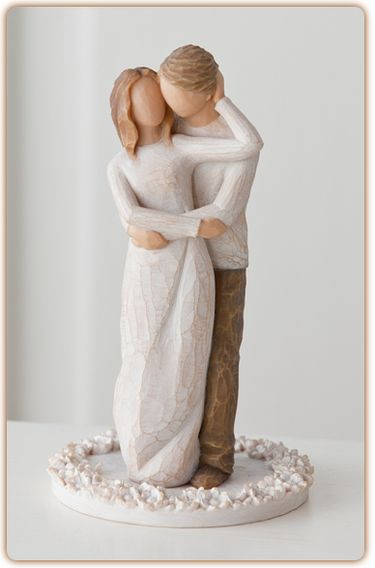 Together Cake Topper Willow Tree