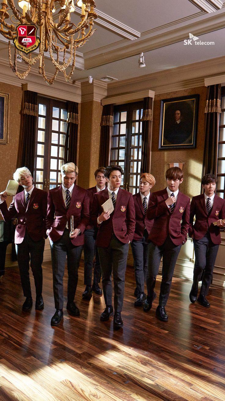B A N G T A N | BTS for SK Telecom CF | V looks like a murderer here XD That's my Taehyungiieeee #BTS