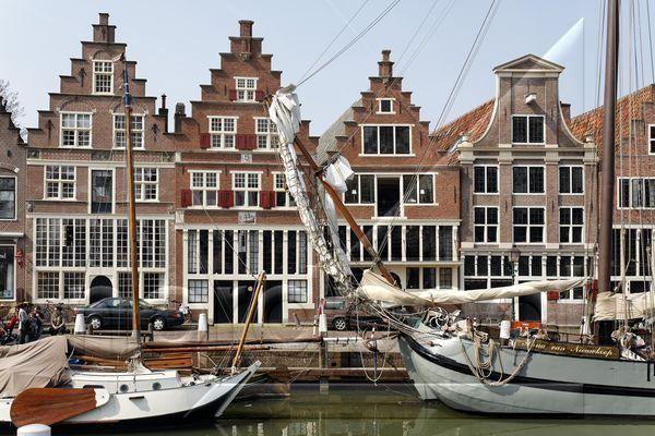 Hafen von Hoorn am Ijsselmeer, historische Häuserfront, Provinz Nordholland, Niederlande, Europa, Foto: nordpool / imagebroker / Karl F. Schöfmann P e t e r s b u r g, D-24966 S o e r u p - B a r g, Tel. +49 (0) 4635-292626, Fax. +49 (0) 4635-295411, EMail: info@nordpool-media.com, www.nordpool-media.com