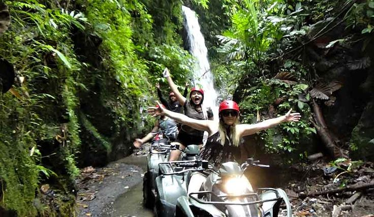 Bali ATV Ride and Elephant Safari Ride Package