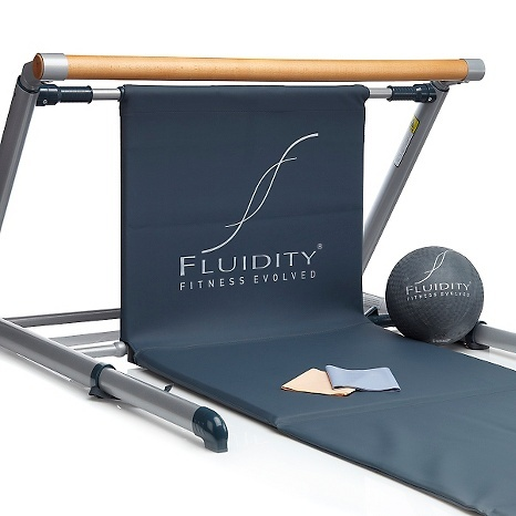 Fluidity Bar Workout System w/Ball, Bands & 3 Workouts (Would love to have this set one day! May look into making one!)