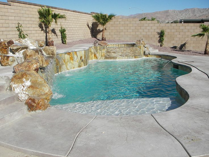 Desert Backyard Pool Design