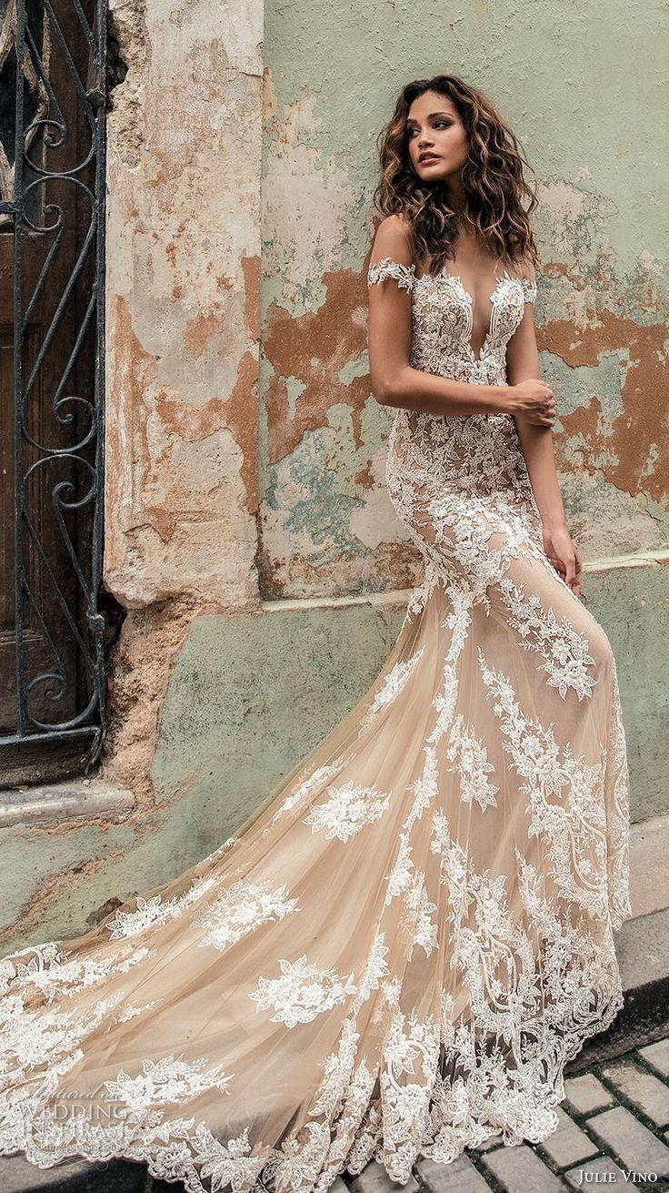 "Julie Vino Fall 2018 Wedding ceremony Clothes — ""Havana"" Bridal Assortment"