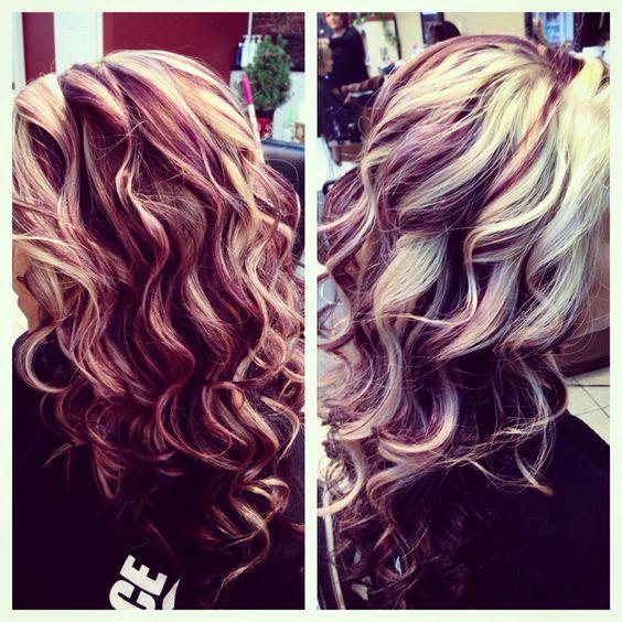 Awe Inspiring 1000 Ideas About Red Blonde Highlights On Pinterest Red Blonde Short Hairstyles Gunalazisus