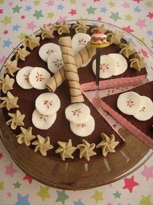 Chocolate Felt Cake