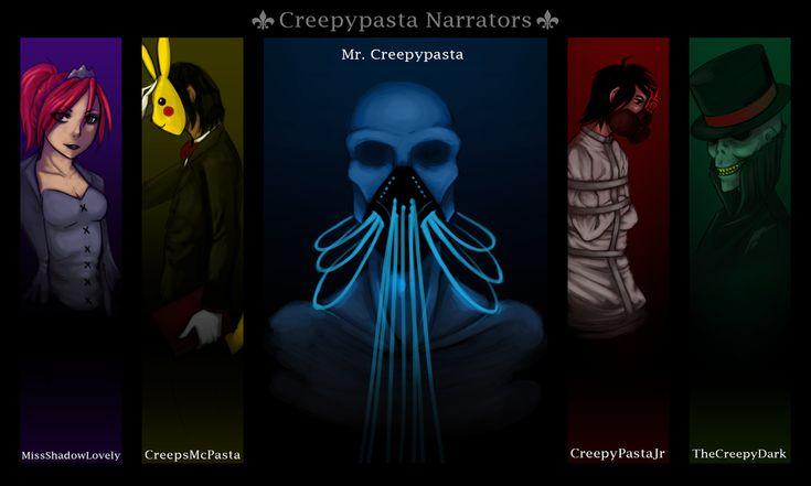 creepypasta | Creepy Pasta Narrator Wallpaper by SUCHanARTIST13