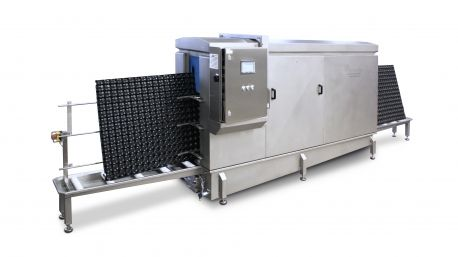 Buy affordable prices industrial washing machines just as pallet washer which is manufactured by Numafa Cleaning Automation. https://www.numafa.com/products/pallet-washers/pwmv-1