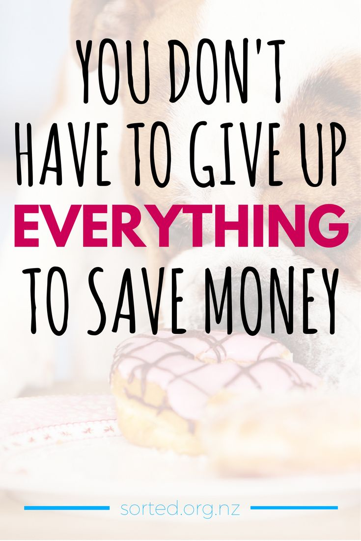 A 'buy nothing' year not really your style? Good news: you don't have to deprive yourself to save money! Here's how to work some fun into your budget - have your cake and eat it too.