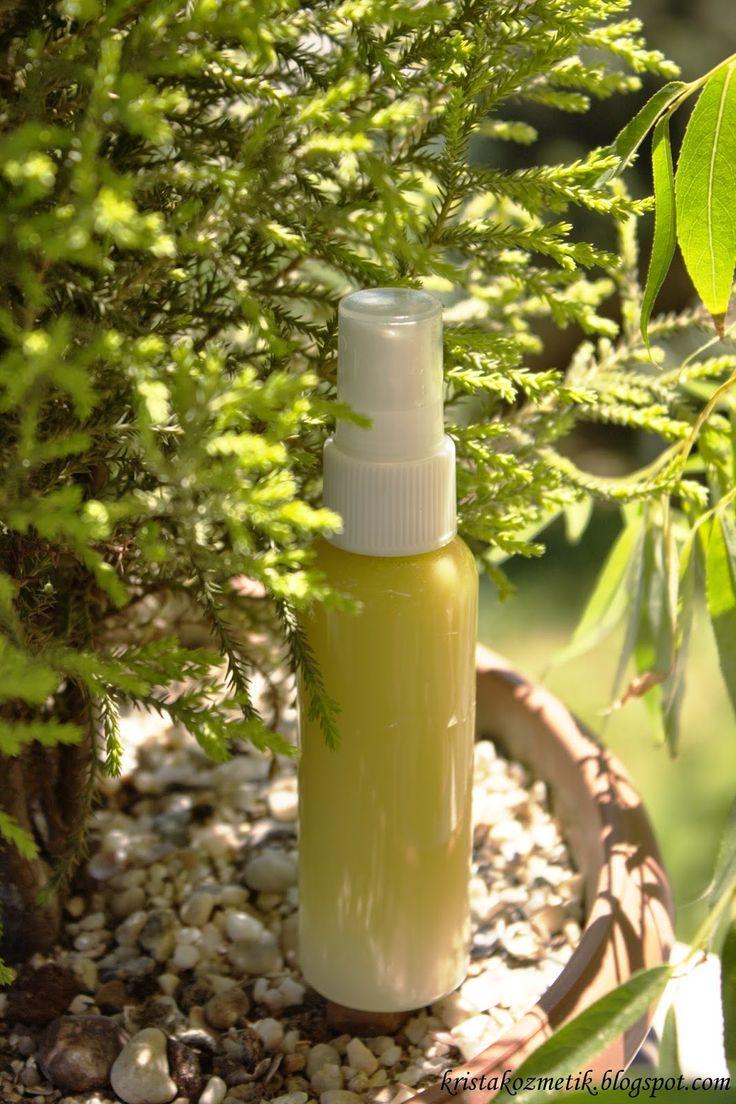 Krista Kozmetik: DIY Yazlık Vücüt spreyi / Summer body spray