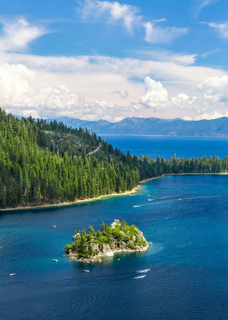 Some have called the road around Lake Tahoe the most beautiful drive in the United States.