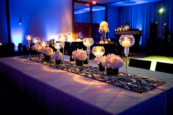 Table Decoration Ideas For Engagement Party