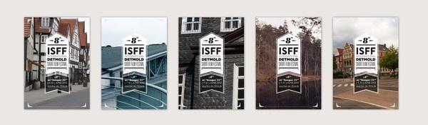 8th ISSF International Detmold Short Film Festival by Ege Alper, via Behance