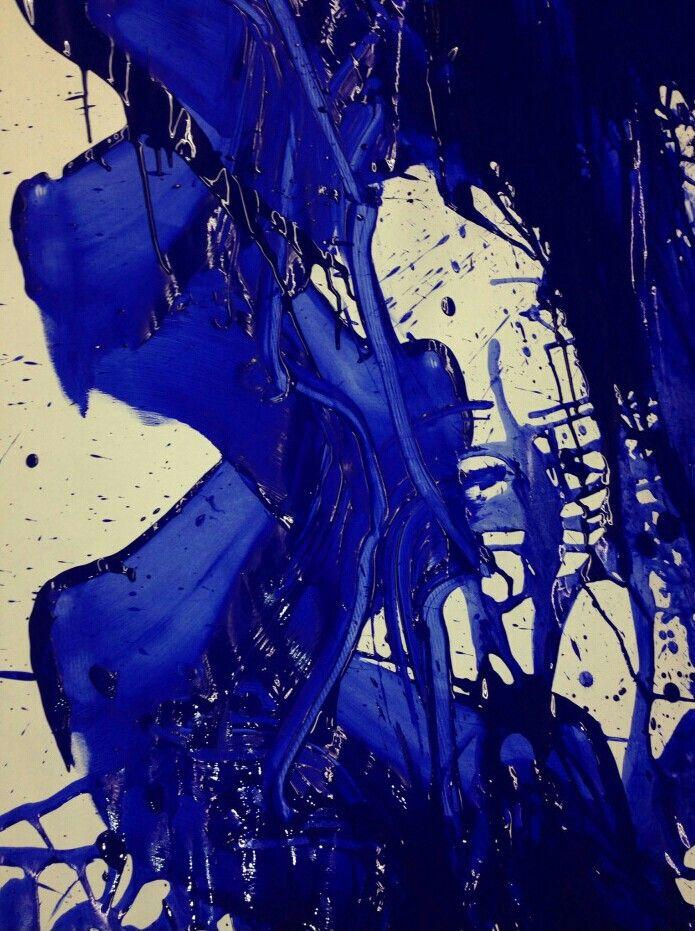 Yves Klein -  Blue