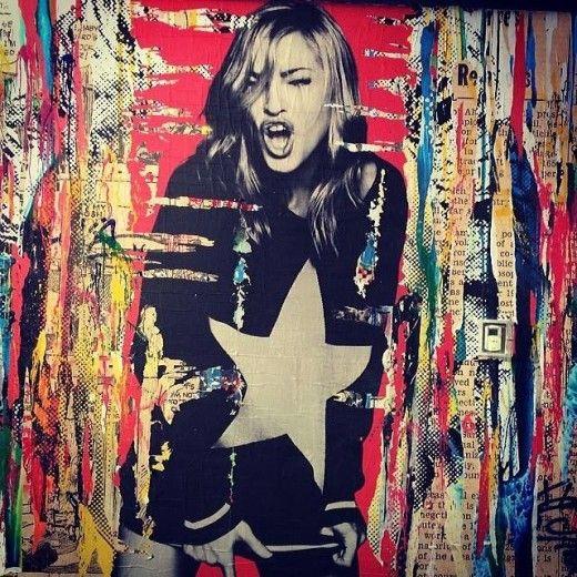 Madonna by Mr. Brainwash, NY