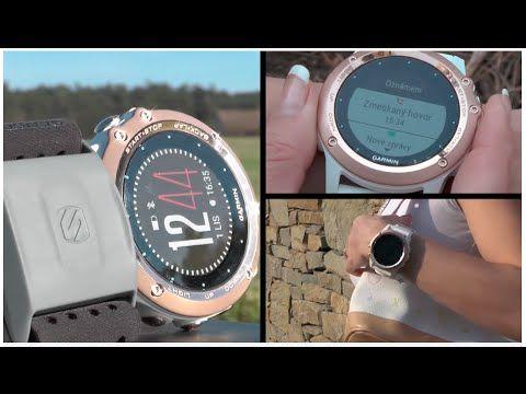 Garmin Fenix3 Sapphire RoseGold – výjimečné sportovní hodinky pro ženy - YouTube