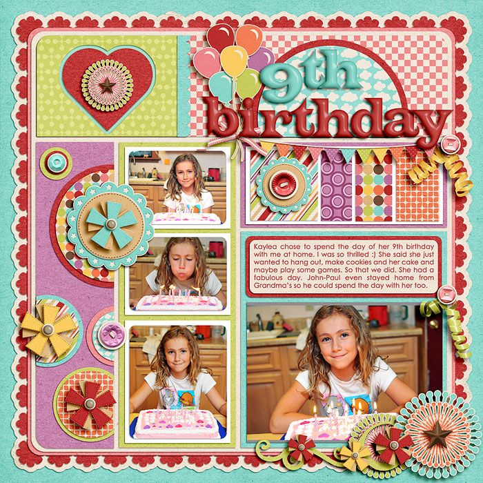 Scrapbook Cover Page Ideas ~ Scrapbook cover page designs for birthday pixshark