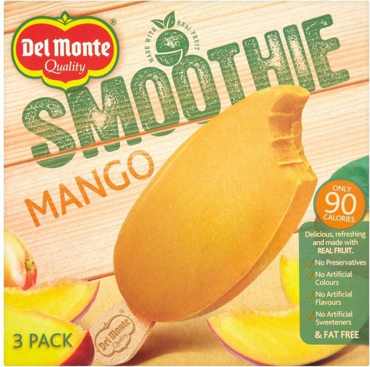 Lisä-ja väriaineetonta, laktoosittomia ja kalorit kohdallaan. Del Monten Mangosmoothie on oivallinen kesäherkku! Makeassa mangosmoothiessa on käytetty intialaista Alphonso mangolajiketta, joka on tunnettu makeudestaan. Tätä herkkua kokeilin Hopottajien kautta - lisää täältä: http://www.hopottajat.fi/delmontesmoothiet/