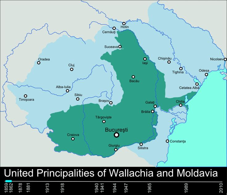 Historical Borders of Romania